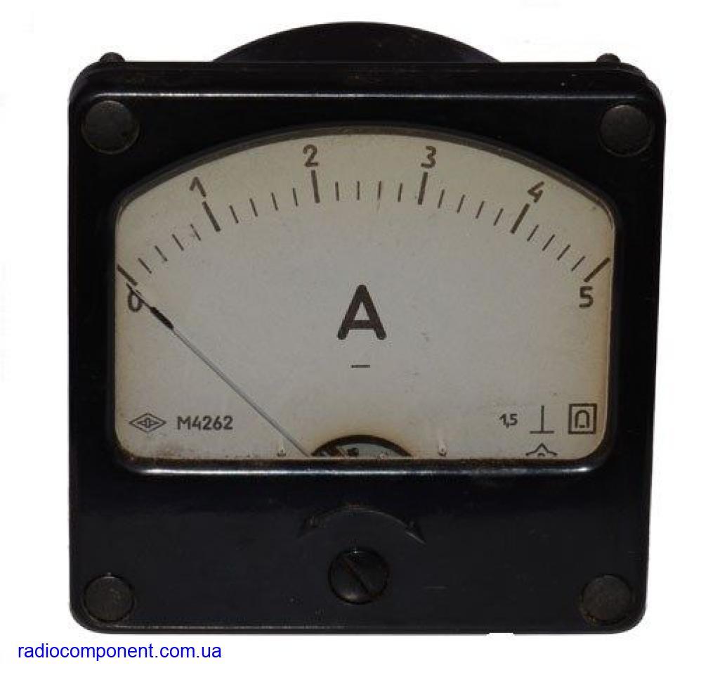 М4262                     амперметр