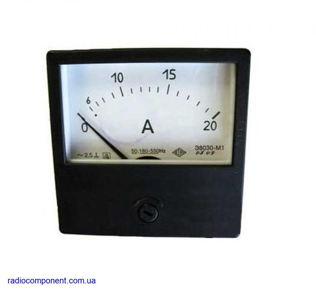 Э8030-М1     миллиамперметр   амперметр
