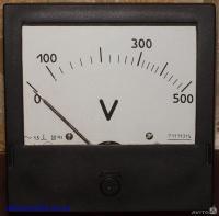 Э365-3                  вольтметр