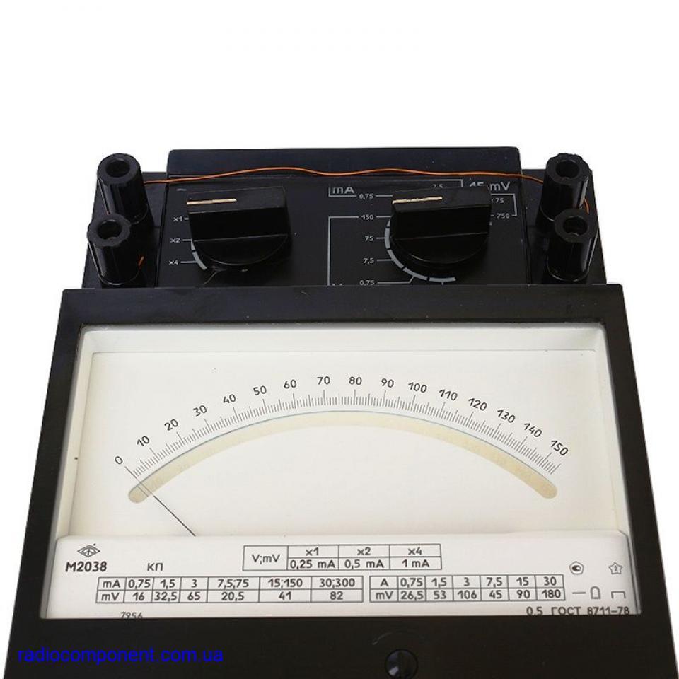 М2038                     вольтамперметр